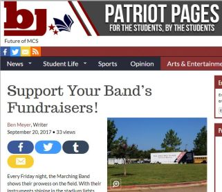 Patriot Pages Article